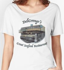 DelGrengo's Great Seafood Restaurant Women's Relaxed Fit T-Shirt