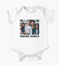 Squad Goals One Piece - Short Sleeve