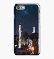 Exotic night sky in Istanbul  iPhone Case/Skin