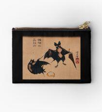 Bats and Umbrellas by Tsukioka Yoshitoshi Studio Pouch