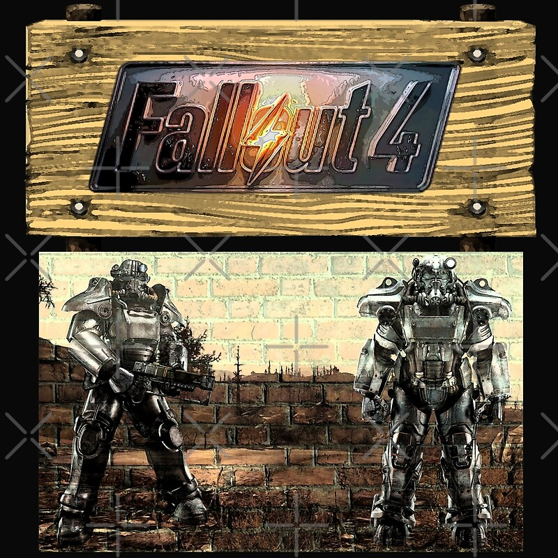 Fallout 4 painting mixed media home decor redbubble for Fallout 4 decorations