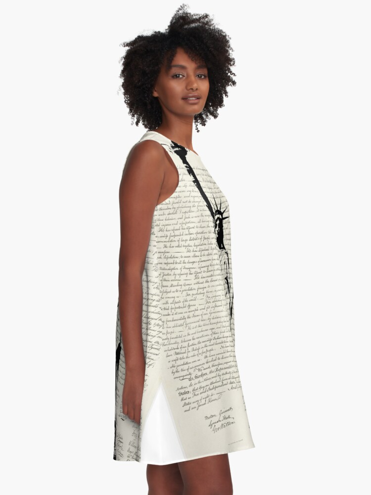 Alternate view of United We Stand A-Line Dress