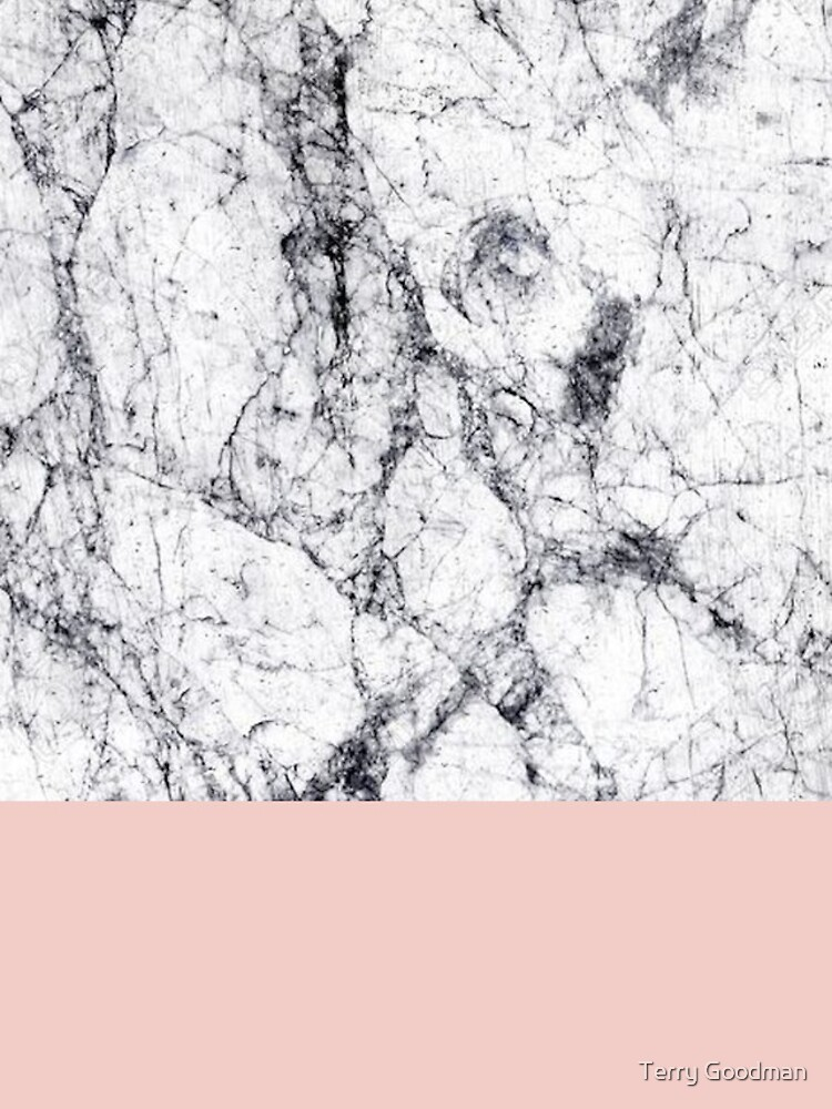 Weißer Marmor auf Roségold von Terry0124