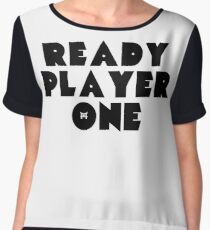Ready Player One Symbol Chiffon Top