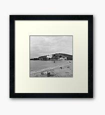 Burgh Island Framed Print