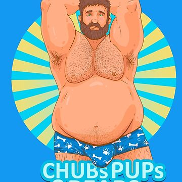 Chubs Blue Undies by chubspupsnbears