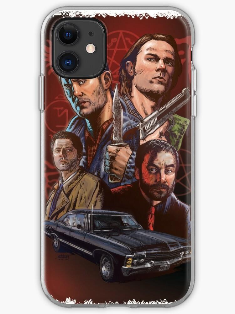 TEAM DEAN SUPERNATURAL iphone case