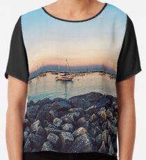 Lakeshore Panorama Chiffon Top