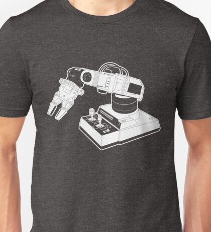 Eighties Robot Arm - Line Art Version Unisex T-Shirt