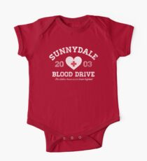 Sunnydale Blood Drive One Piece - Short Sleeve