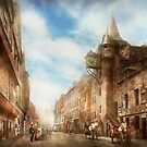 City - Scotland - Tolbooth operator 1865 by Mike  Savad