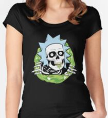 BURPS Ripper Women's Fitted Scoop T-Shirt