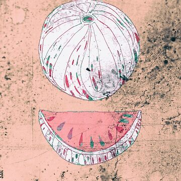 Pink Vintage Watermelon  by TapoJusti