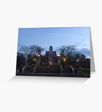 Hall of Languages Greeting Card