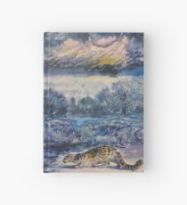 Snow Leopard and Otter Hardcover Journal