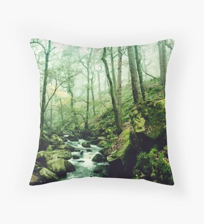 The Secrets of a Flowing Creative Mind Throw Pillow