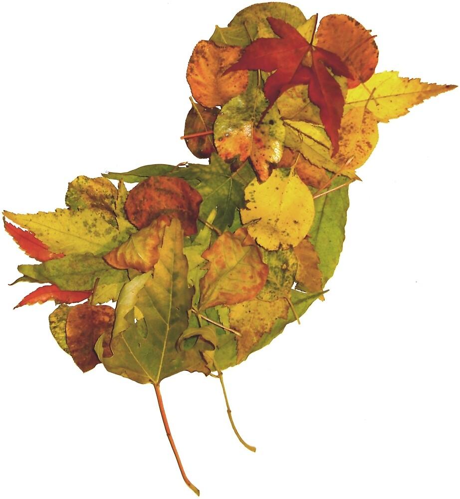 Little Bird of Fall by vonplatypus