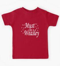 Must be a Weasley Kids Tee