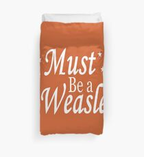 Must be a Weasley Duvet Cover