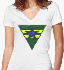 Battle Hardened Browncoat Women's Fitted V-Neck T-Shirt