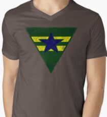 Battle Hardened Browncoat Men's V-Neck T-Shirt