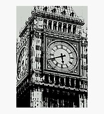 Big Ben Face - Palace of Westminster, London  Photographic Print