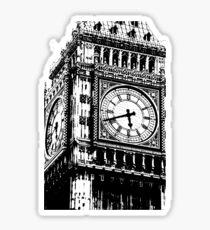 Big Ben Face - Palace of Westminster, London  Sticker