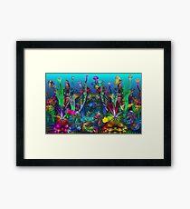 The Happy Apo Reef Framed Print