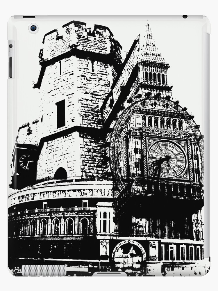 London Composite Pen and Ink by CorrieJacobs