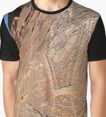 McConkie Ranch Petroglyph - Dry Fork Canyon - Vernal - Utah Graphic T-Shirt