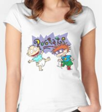 Rugrats - Tommy & Chuckie Women's Fitted Scoop T-Shirt