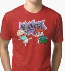 Rugrats - Tommy & Chuckie Tri-blend T-Shirt