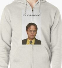It Is Your Birthday. Zipped Hoodie