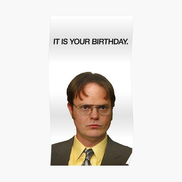 Es ist dein Geburtstag. Poster
