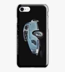 Pale Blue Volkswagen Type 1 iPhone Case/Skin
