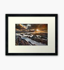 Rush / County Dublin / Ireland Framed Print