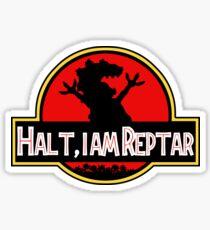 Halt I am Reptar - Jurassic Park Sticker