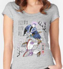 Dragon Ball Z - Future Trunks vs Frieza - 2 - Samurai Art  Women's Fitted Scoop T-Shirt
