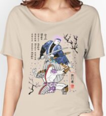 Dragon Ball Z - Future Trunks vs Frieza - 2 - Samurai Art  Women's Relaxed Fit T-Shirt