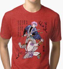 Dragon Ball Z - Future Trunks vs Frieza - 2 - Samurai Art  Tri-blend T-Shirt