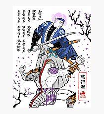 Dragon Ball Z - Future Trunks vs Frieza - 2 - Samurai Art  Photographic Print
