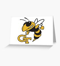 Georgia Tech Yellowjackets Greeting Card
