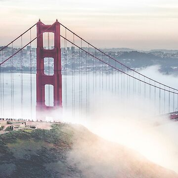 Golden Gate Bridge by KushDesigns