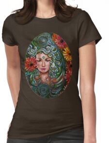 Chakra Womens Fitted T-Shirt