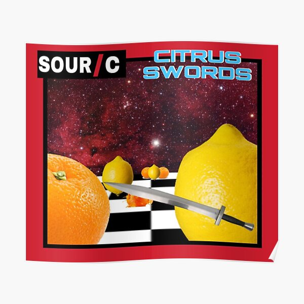 Citrus Swords Poster