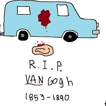 VAN Gogh by AlexAdamsonArt