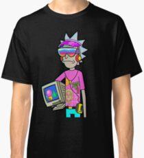 Vaporwave Rick Classic T-Shirt