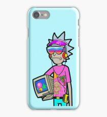 Vaporwave Rick iPhone Case/Skin