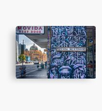 Movida Next Door Canvas Print