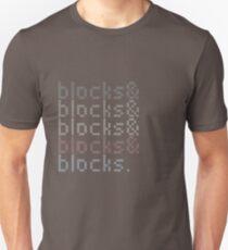 Minecraft Blocks& Unisex T-Shirt